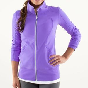 Lululemon Contempo Jacket Power Purple Size 2 NWT